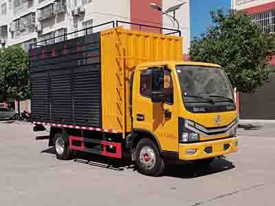 程力威牌CLW5045TWC6型污水处理车