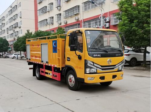 程力威牌CLW5046TWC6型污水处理车