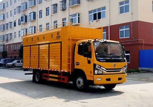 程力威牌CLW5095TWC6型污水处理车