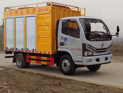 程力威牌CLW5041TWC6型污水处理车